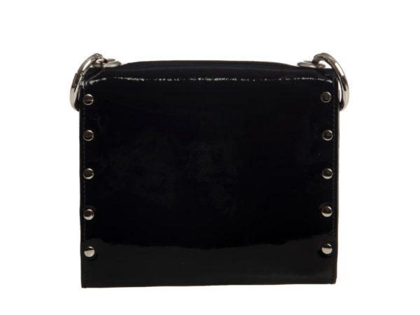 SEATBELT BAG GLOSSY BLACK by Vivien Babicova